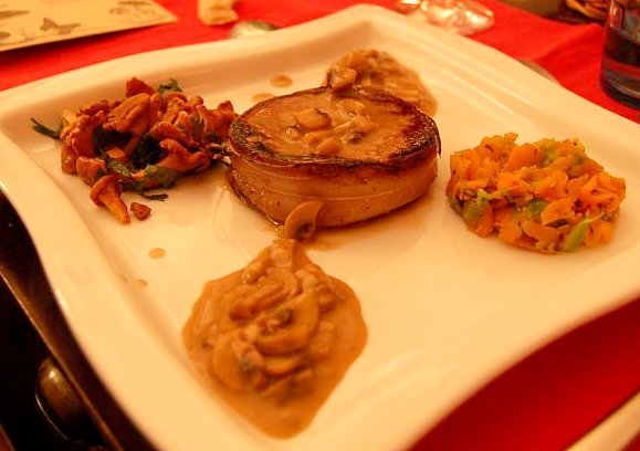 Recette du tournedos de boeuf jus de veau et champignons - Cuisiner tournedos de boeuf ...